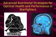 Advanced Nutritional Strategies for Optimal Health and Performance ...