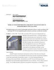 DTV II Digitales Thermostatventil - Kohler