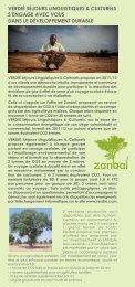 Télécharger le formulaire de souscription ZANBAL - Verdié Voyages