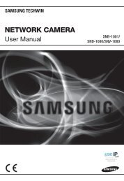 Samsung SND-1080 User Manual - Use-IP