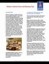 Kitchen Cabinet Care and Cleaning Tips - Sherwin-Williams Product ...