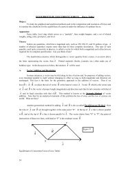 EQUILIBRIUM OF CONCURRENT FORCES (Force Table) - Physics