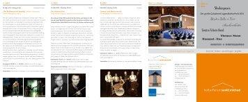 Bachorchester - Kulturforum Lingen