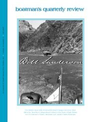 Bill Sanderson - Grand Canyon River Guides
