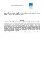 """""""Anarquistas y obreras del pescado: Una experiencia de ..."""