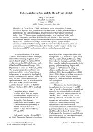issue 2 12 b - APS Member Groups - Australian Psychological Society