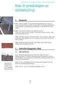 Krav til slaktekyllingproduksjon - Nortura - Page 7