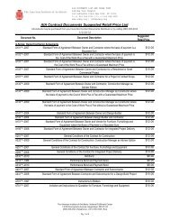 AIA Contract Documents Suggested Retail Price List 1/2/2012