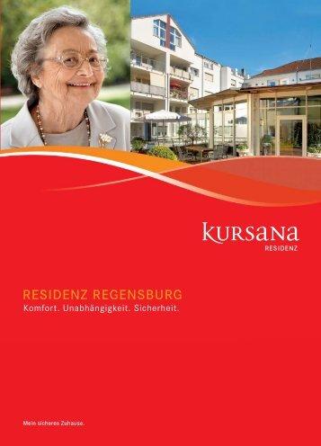 pdf Residenzbroschüre Regensburg -  Kursana