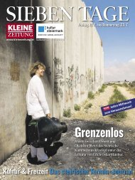 SiEbEn TagE - Kultur Service Gesellschaft Steiermark