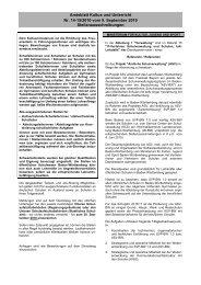 Amtsblatt Kultus und Unterricht Nr. 14-15/2010 - Ministerium für ...