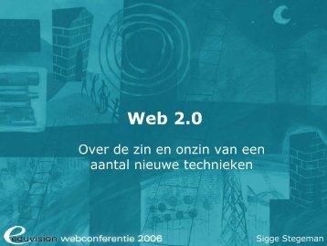 Web 2.0 bestaat niet - Eduvision