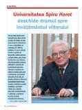 articol apărut în Revista Market Watch, nr. 76 - Universitatea Spiru ... - Page 2
