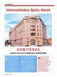 articol apărut în Revista Market Watch, nr. 76 - Universitatea Spiru ... - Page 4