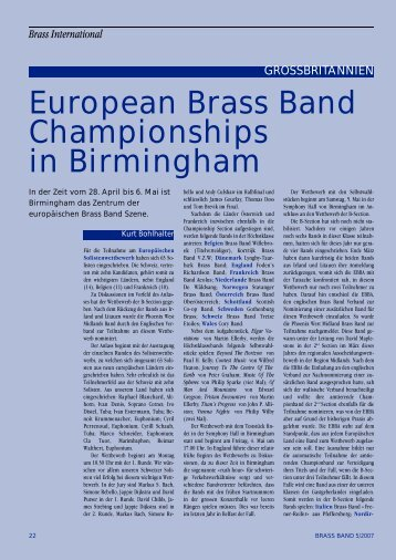 Brass International - brass.ch