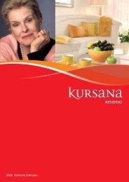 Das Wichtigste ist immer noch:  Ihre Gesundheit. - Kursana