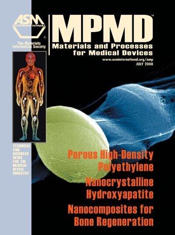 Porous High-Density Polyethylene ... - ASM International