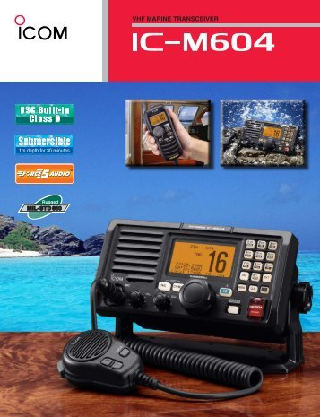 VHF MARINE TRANSCEIVER - Globalgroup.us
