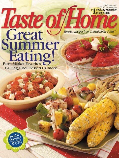 Taste Of Home Junejuly 2007 Doridro