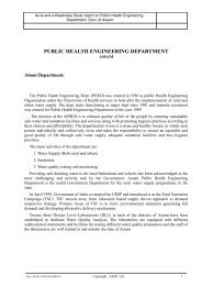 public health engineering department - Assam Online Portal