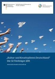 Kultur- und Kreativpiloten Deutschland - Initiative Kultur- und ...