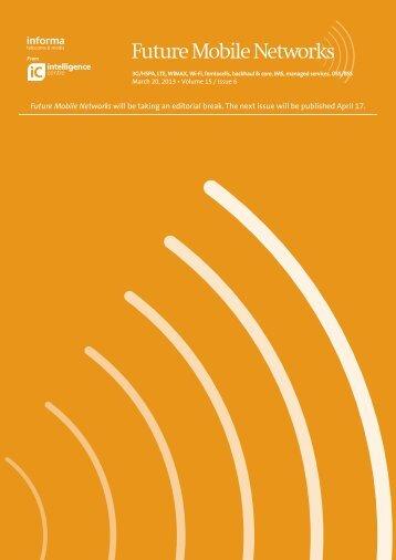 Download sample issue PDF - Informa Telecoms & Media