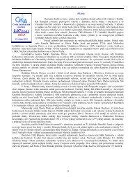 Zpravodaj 1. KLZ - Česká kuželkářská asociace