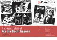 Thomas Fatzinek Als die Nacht begann Comics - Renner Institut
