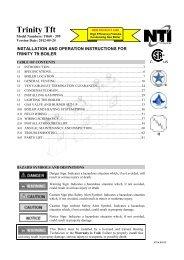 Trinity Tft Installation and Operation Manual V ... - NY Thermal Inc.