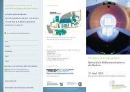 Veranstaltungsflyer - Brancheninitiative Gesundheitswirtschaft ...