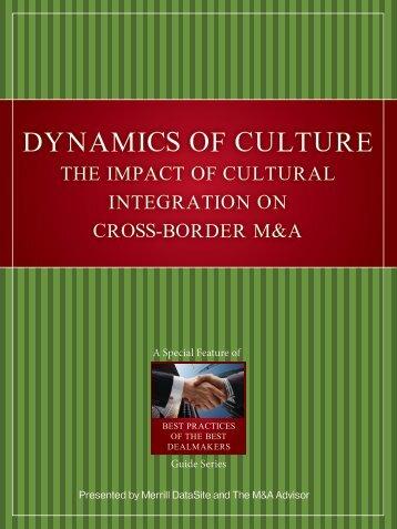 DYNAMICS OF CULTURE
