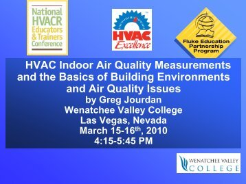 Indoor Air Quality - HVAC Excellence