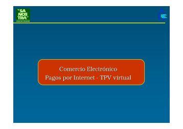 Comercio Electrónico Pagos por Internet - TPV virtual
