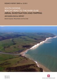 Aerial Investigation and Mapping Report - English Heritage
