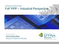 EI PPP June23 Chris Decubber EFFRA (pdf) - Seventh EU ...