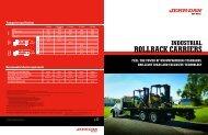 Jerr-Dan Industrial Rollbacks 5 to15 ton - Twin State Equipment