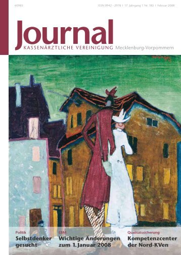 Journal - Kassenärztliche Vereinigung Mecklenburg-Vorpommern