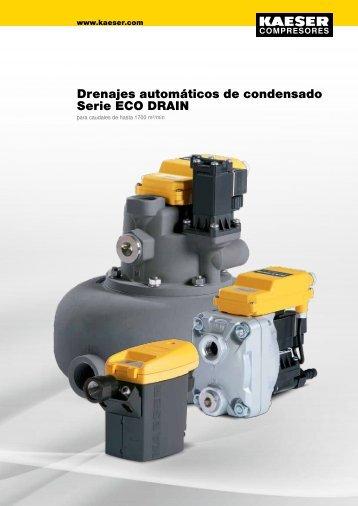 Drenajes automáticos de condensado Serie ECO DRAIN - Kaeser
