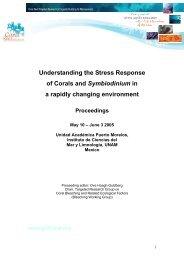 Mexico May_05 Bleaching Wshop proceedings.pdf - Coral Reef ...