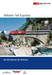 Wilhelm Tell Express deutsch