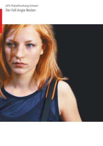 Der Fall Angie Becker - Firstavenue
