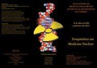 Terapêutica em Medicina Nuclear - Hospitais da Universidade de ...