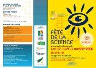 Voir la plaquette de présentation du Village - Science Action Haute ...
