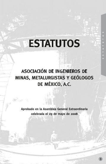 Estatutos - Asociación de Ingenieros de Minas, Metalurgistas y ...