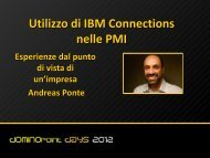 IBM Connections - Belsoft AG