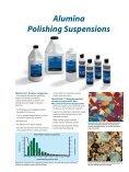 Alumina Polishing Suspensions - Buehler - Page 3