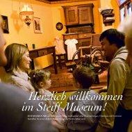 Herzlich willkommen im Steiff Museum!