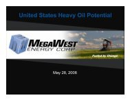 United States Heavy Oil Potential