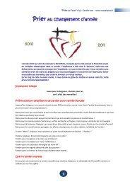 Prier au changement d'année 2010 2011 - Picpus
