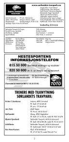 1 - Sørlandets Travpark - Page 2